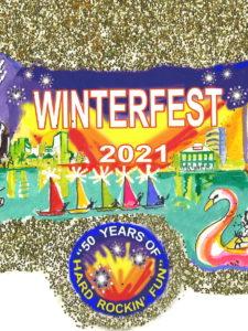 PROOF Winterfest 2021 Ornament artwork