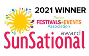 Florida Festivals & Events 2021 SunSational Award Winner logo