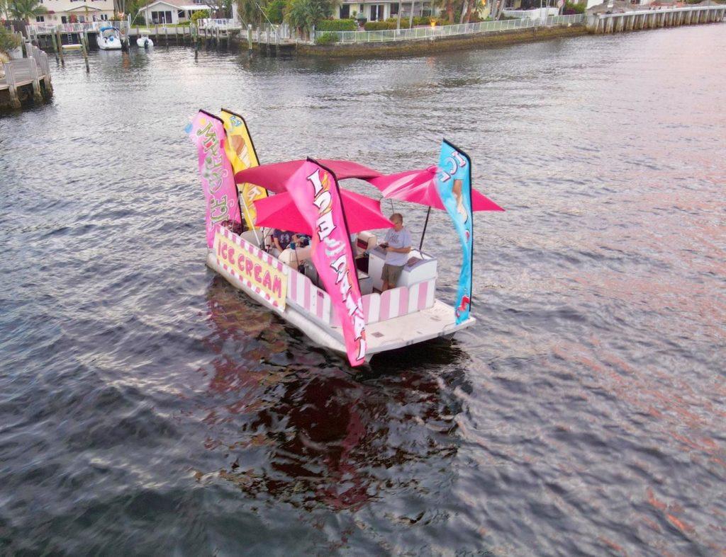 The Ice Cream Float Boat